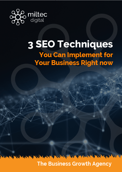 3 seo techniques you can implement for your business right now